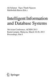 Cover of: Intelligent Information and Database Systems | Ali Selamat