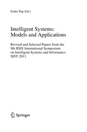 Cover of: Intelligent Systems: Models and Applications | Endre Pap