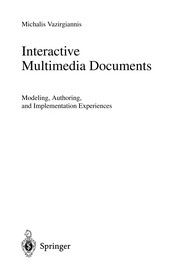 Cover of: Interactive Multimedia Documents