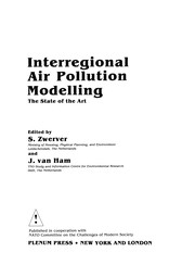 Cover of: Interregional Air Pollution Modelling | S. Zwerver