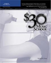 Cover of: $30 Music School | Michael W. Dean
