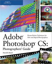 Cover of: Adobe Photoshop CS: Photographers' Guide