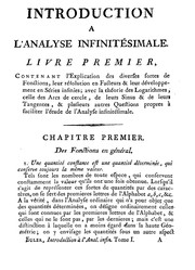 Cover of: Introduction à l'analyse infinitésimale | Leonhard Euler