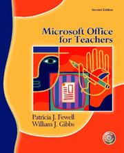 Cover of: Microsoft Office for teachers | Patricia J. Fewell