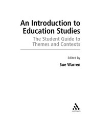 Cover of: An introduction to Education studies |