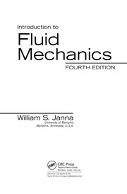 Cover of: Introduction to fluid mechanics