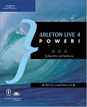 Cover of: Ableton Live 4 power! | Chad Carrier