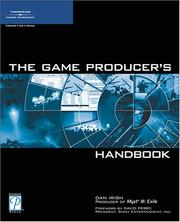 Cover of: The game producer's handbook