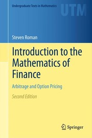 Cover of: Introduction to the mathematics of finance | Steven Roman