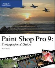 Cover of: Paint Shop Pro 9