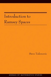 Cover of: Introduction to Ramsey spaces | Stevo Todorcevic