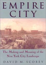 Cover of: Empire City | David M. Scobey