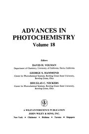 Cover of: Advances in photochemistry. |