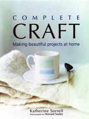 Cover of: Complete Craft