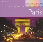 Cover of: Colors of Paris
