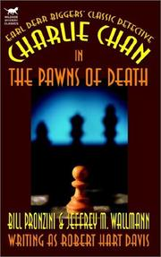 Cover of: Charlie Chan in the Pawns of Death