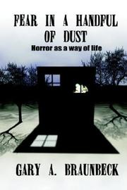 Cover of: Fear in a Handful of Dust: