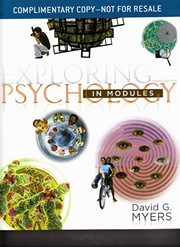Cover of: Exploring Psychology in Modules: 9th Edition