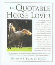 Cover of: The Quotable Horse Lover (Quotable)