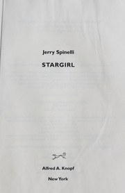 Cover of: Stargirl | Jerry Spinelli