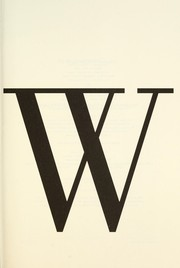 Cover of: W is for wasted