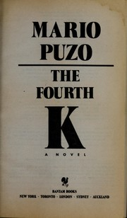 Cover of: The fourth K