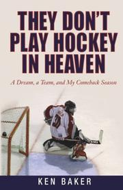 Cover of: They Don't Play Hockey in Heaven