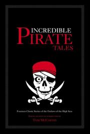 Cover of: Incredible Pirate Tales | Tom McCarthy