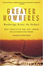 Cover of: Greater Nowheres: A Journey Through the Australian Bush