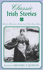 Cover of: Classic Irish Stories