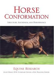 Cover of: Horse Conformation | Equine Research