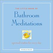 Cover of: The Little Book of Bathroom Meditations