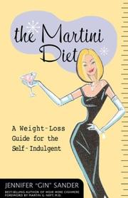 Cover of: The martini diet