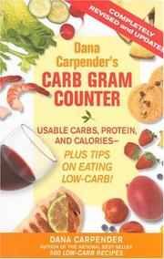 Dana Carpenders Carb Gram Counter