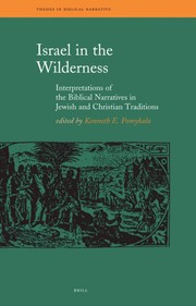 Cover of: Israel in the wilderness |