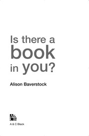 Cover of: Is There a Book in You? |