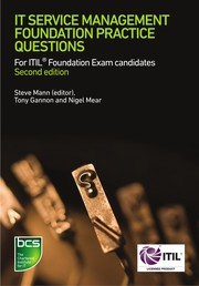 Cover of: IT Service Management Foundation Practice Questions | Steve Mann