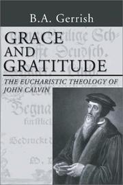 Cover of: Grace and Gratitude