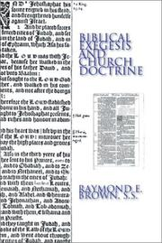 Cover of: Biblical Exegesis and Church Doctrine