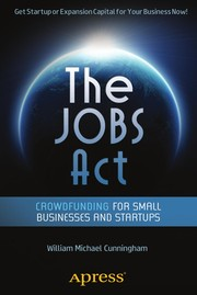 Cover of: The Jobs Act | William Michael Cunningham