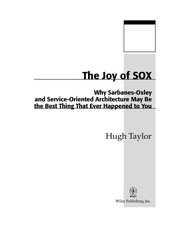 Cover of: The joy of SOX | Taylor, Hugh