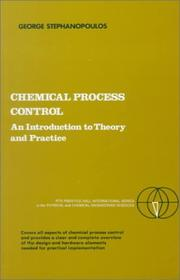 Cover of: Chemical Process Control