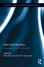 Cover of: Kant and education | Klas Roth