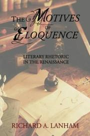 Cover of: Motives of Eloquence