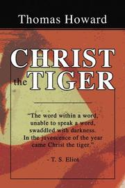 Cover of: Christ the Tiger