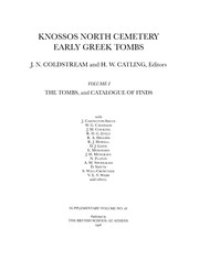 Cover of: Knossos North Cemetery |