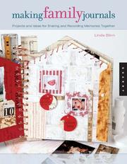 Cover of: Making family journals | Linda Blinn