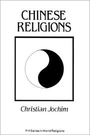 Cover of: Chinese religions | Christian Jochim