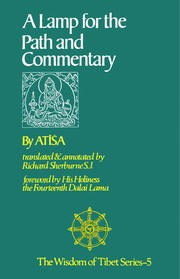 Cover of: A lamp for the path and commentary | AtisМЃa.