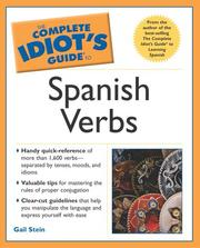 Cover of: The complete idiot's guide to Spanish verbs